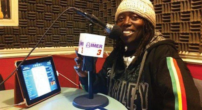 Makeda Dread keeping reggae in the San Diego air.