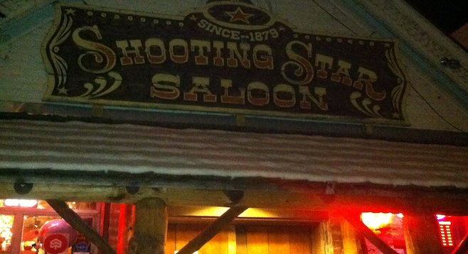 The old-time confines of Utah's Shooting Star Saloon