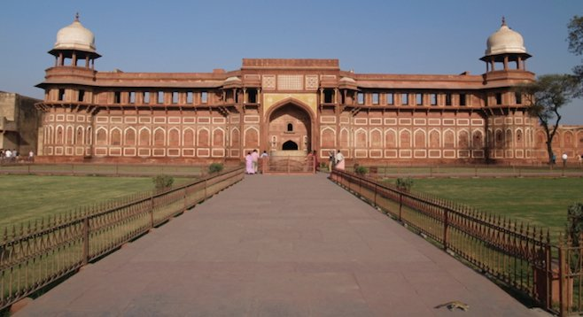 The Red Fort, Agra's (other) architectural wonder