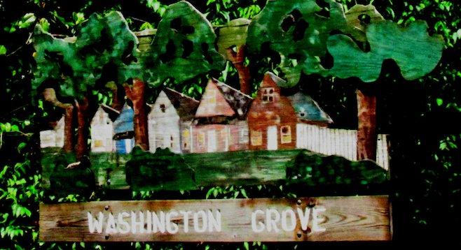 Welcome to bucolic Washington Grove