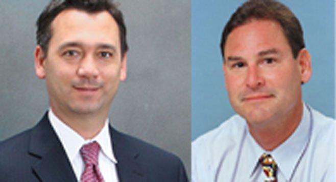 Eric Benink and Paul Kolen