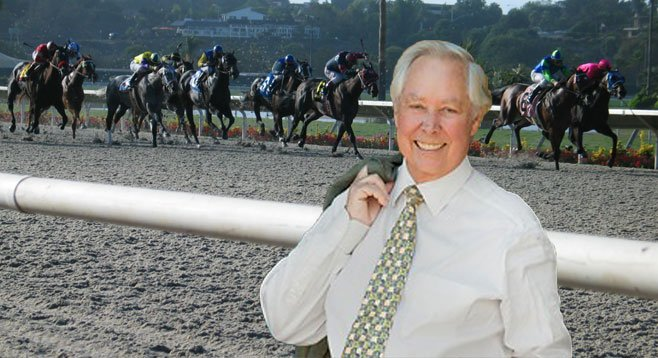 Del Mar city councilman Carl Hilliard says his private horse-racing operation has presented no conflict of interest.
