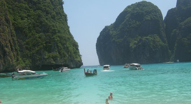 Finding DiCaprio's  Beach in Koh Phi Phi, Thailand.