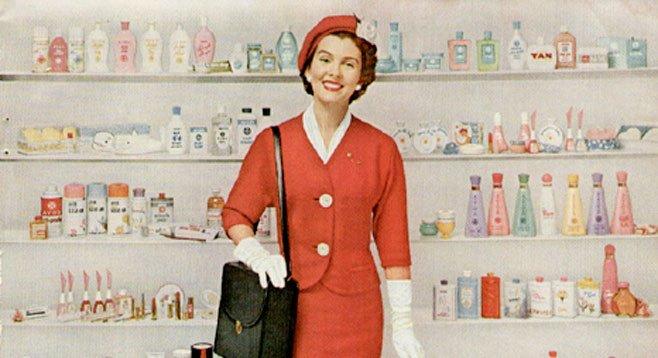 Avon Representatives have traditionally been women.