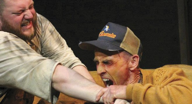 In Sam Shepard's Buried Child, his people improvise like jazz soloists.