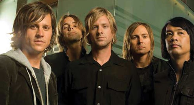 Switchfoot commands big bucks from their hometown county fair.