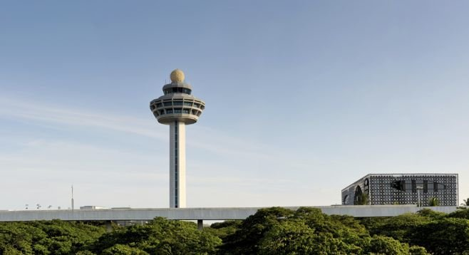 Singapore's Changi International houses a pool, movie theater, giant indoor slide, six garden reserves, and yes, more.