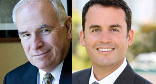 Superlobbyists Bob White and Craig Benedetto have been  lobbying — and donating to — city councilmembers.  Benedetto hosted a fundraiser for Todd Gloria.