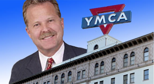 Richard Ledford is lobbying for permits to redevelop historic Armed Services YMCA.