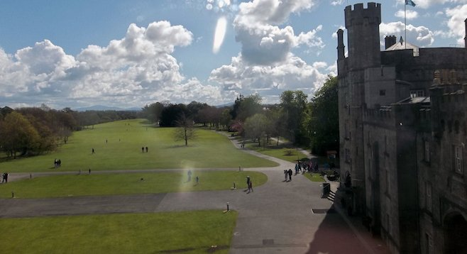 13th-century Kilkenny Castle was built during Norman occupation to protect the town from invasion.