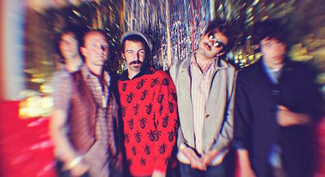 Casbah stages O.C. psych-pop band the Growlers in advance of their new Dan Auerbach–produced record.