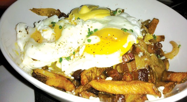 My new trigger food: loaded fries at Arterra
