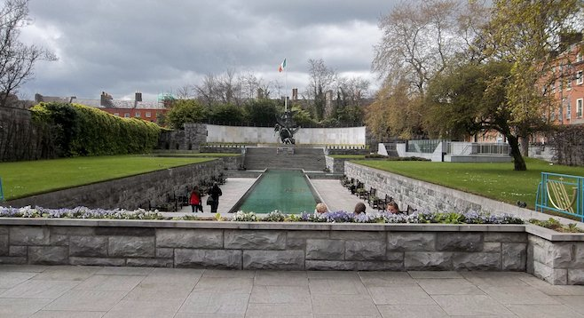 Dublin's Garden of Remembrance is of particular significance to the Irish.