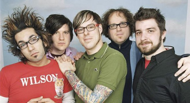 Pop-punk act Motion City Soundtrack roll into Casbah Thursday night