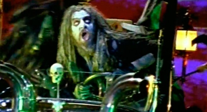 """Catch up with Rob Zombie and his """"Dragula"""" at Petco Park."""