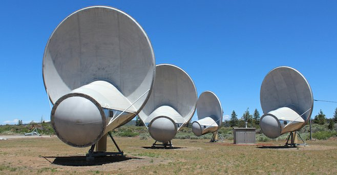Hat Creek's Allen Telescope Array has its ears to the sky in search of alien life.
