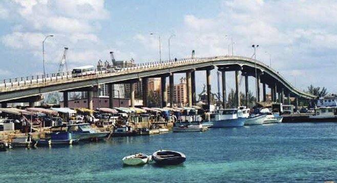 The Bahamas' Paradise Island Bridge, which brought gamblers to a reputedly mobbed-up casino.