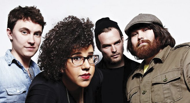 Roots-rocking Alabama Shakes rattles and rolls into House of Blues Thursday night.