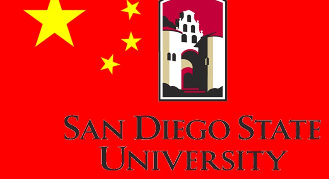 SDSU seeks to import Chinese students.