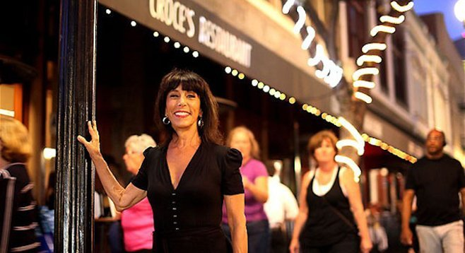"Ingrid Croce: ""When I was growing up, I wanted to be an Olympic gymnast."""