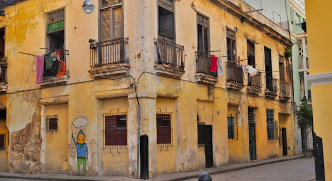 Walking the streets of Havana, the city's former glory is evident despite the many crumbling buildings.