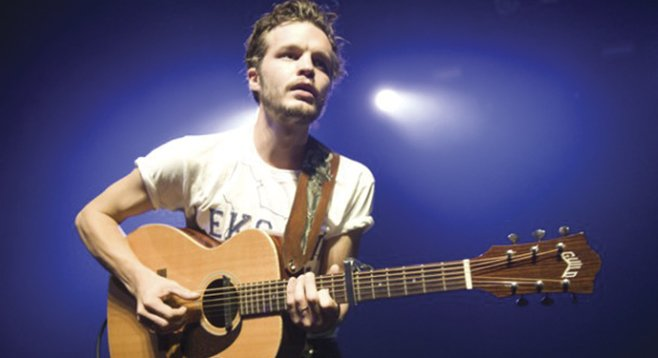 The Tallest Man on Earth ducks into the Birch North Park Theatre on Sunday.