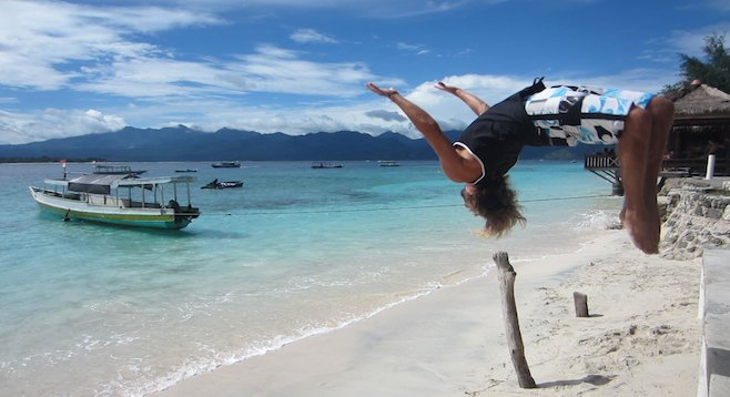 With minimal crowds, beautiful beaches and great surf, Nusa Lembongan is worth celebrating.