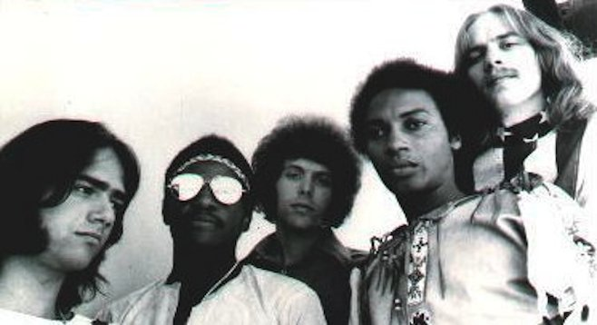 Touring the South of the early '70s, Pacific Gas & Electric was one of the few bands made up of both white and black musicians.