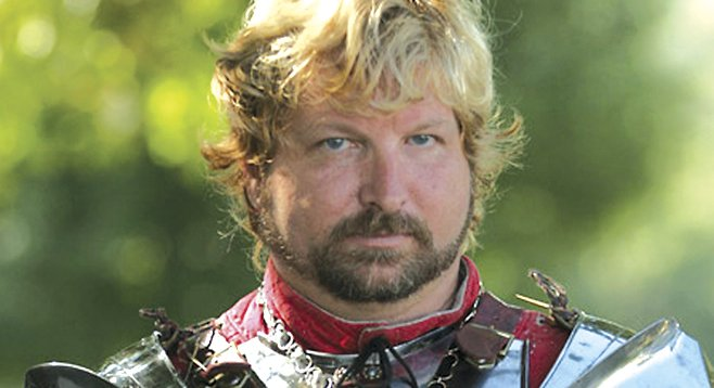 Jeffrey Hedgecock turned his armouring hobby into a full-time job. He is the only armourer on the West Coast.