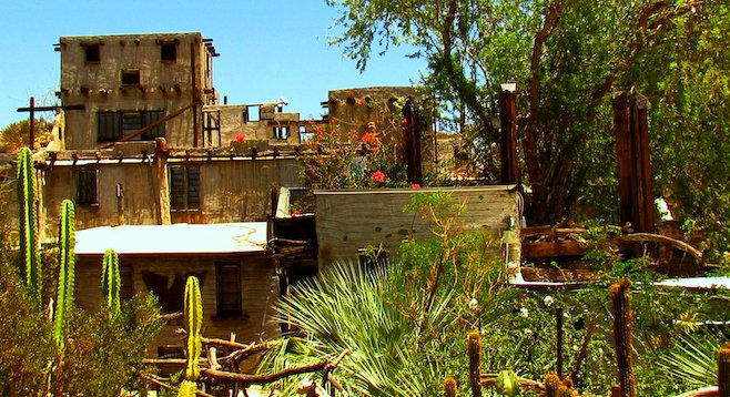 A bit of a 20th-century Renaissance man, Cabot Yerxa made and laid every brick in his Desert Hot Springs pueblo himself.