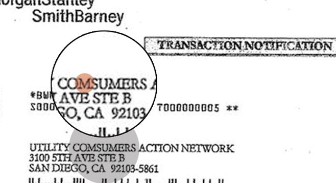 The old misspelled-name trick was one of the scams used by UCAN to skim money from the nonprofit.