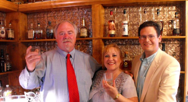 A bourbon tasting in Bardstown's historic Chapeze House with the Colonel(s).