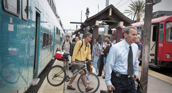 SANDAG believes its new transportation plan provides greater access to public transit. Opponents of the plan say it will result in more car traffic.