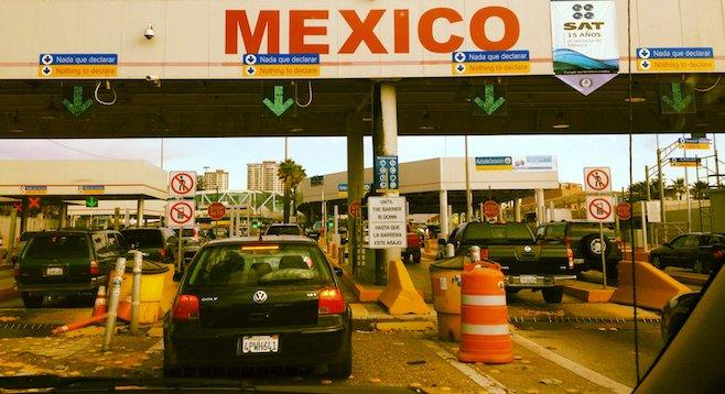 Tijuana's safe for tourists again, say many border crossers.