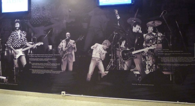 Valley View spruced up its walls with arena history — in vinyl.