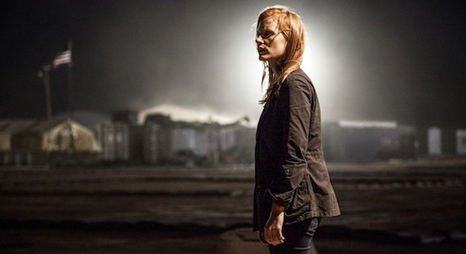 Zero Dark Thirty's Jessica Chastain plays a CIA operative doggedly pursuing the  world's most wanted man.