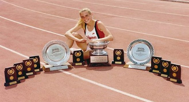 Suzy Favor-Hamilton, one-time track star, now the third-most popular prostitute in Las Vegas