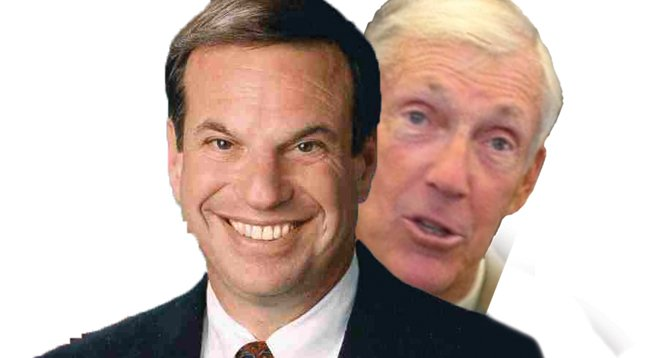 Bob Filner and Buzz Woolley