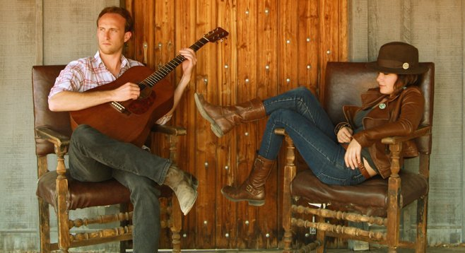 Country-blues duo Tilt find inspiration for Howlin' in a Cherokee tale.