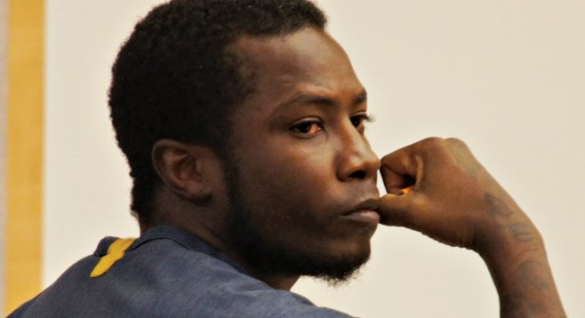 Prosecutors say Gregory Leon Spatcher kidnapped a man at knifepoint, then extorted $1000 and a car from the man's boss.