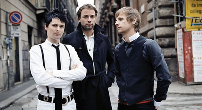 English electronic-rock trio Muse bring this week's big gig to Valley View Casinorena on Monday.