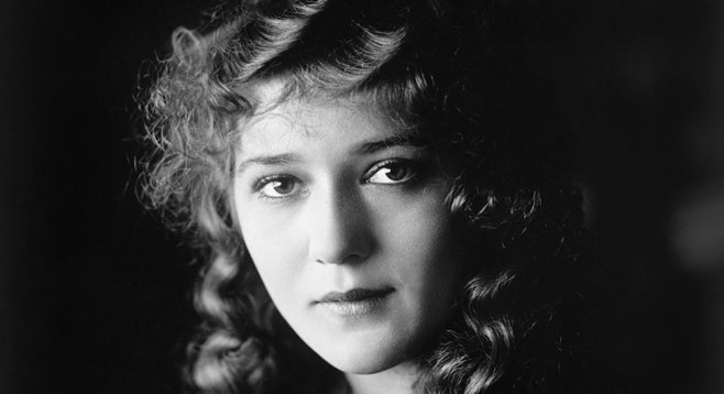 Famous silent-film star and movie pioneer Mary Pickford.