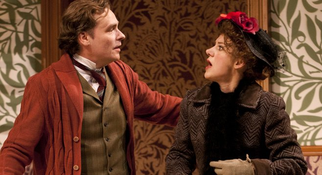 In Pygmalion, Henry and Eliza have a bond, ambiguous as all get-out, but a bond nonetheless.