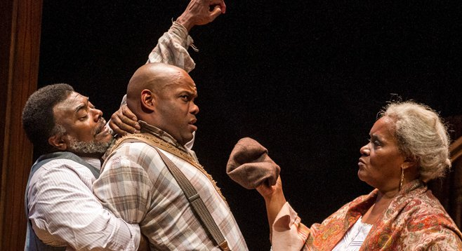 Gem of the Ocean is about African Americans searching for identities in 1904 Pittsburgh.