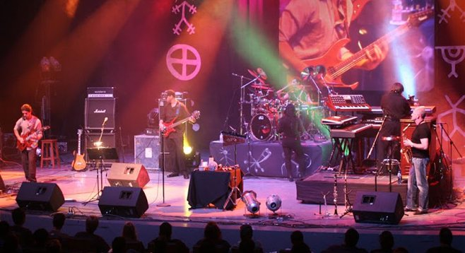 Prog act CAST a mainstay at Baja Prog, which returns this