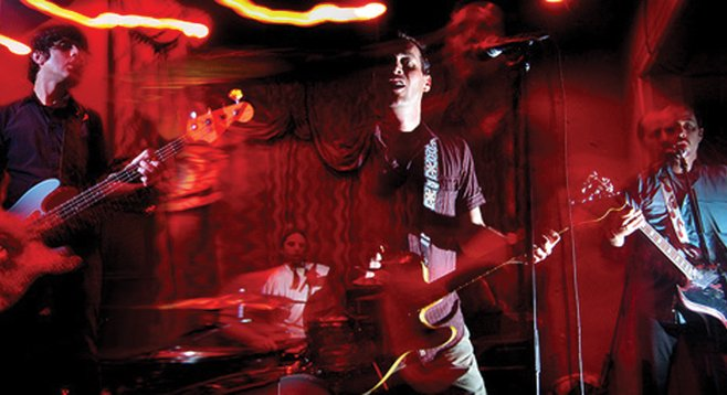 Night Marchers will take the stage at Casbah Sunday, February 24