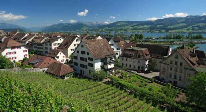 Travel photos don't do Rapperswil, Switzerland, justice – but it's hard to stay neutral with a setting like this. [Thinkstock image]