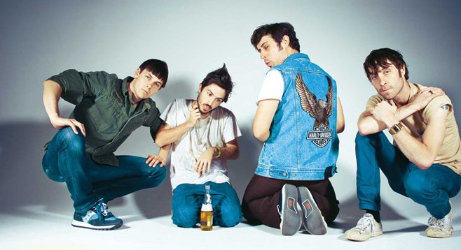 Flower punk Atlanta band the Black Lips take over Casbah this weekend.