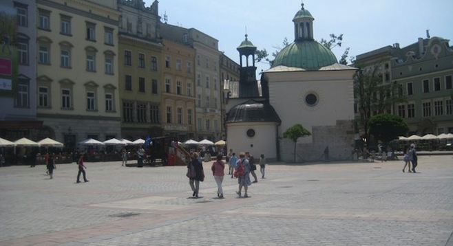 The largest medieval town square in Europe, Krakow's Main Square dates back to the 13th century.