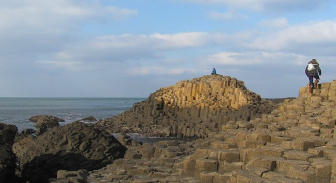 Ancient volcanic formation or road for giants? Either way, Northern Ireland's Giant's Causeway is worth a stop.